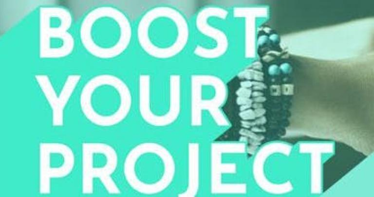 Boost Your Project: appel à candidatures 2019